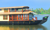 kerala 4 bedroom premium houseboat