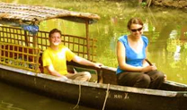 Alleppey eco friendly Canoe tour